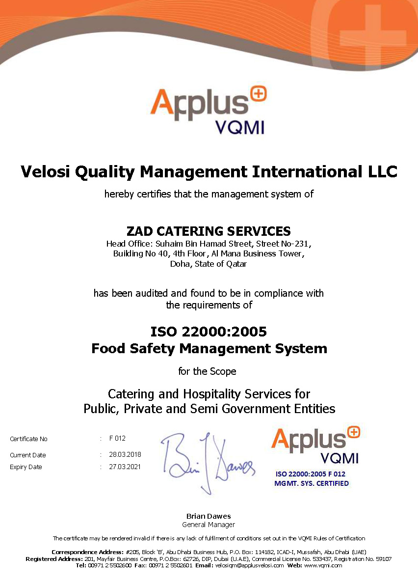 Food Safety Management System